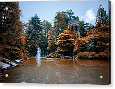 The Castle At Longwood Gardens Acrylic Print by Bill Cannon