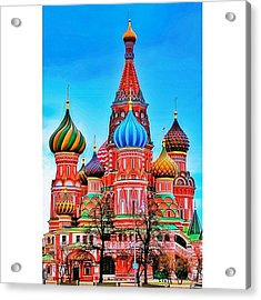 The Cathedral Of The Protection Of Most Acrylic Print