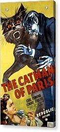 The Catman Of Paris, 1946 Acrylic Print by Everett
