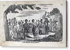 The Celebration Of The Sabbath Among Acrylic Print by Everett
