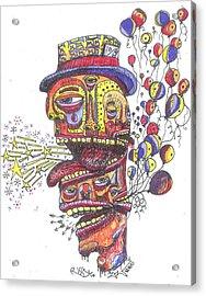 The Celebration Acrylic Print by Robert Wolverton Jr