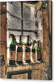 The Cellar Window Acrylic Print by William Fields