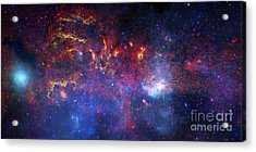 The Central Region Of The Milky Way Acrylic Print by Stocktrek Images