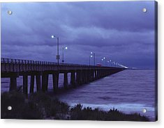The Chesapeake Bay Bridge-tunnel Acrylic Print