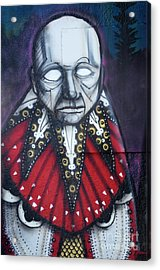 The Chief Acrylic Print by Bob Christopher