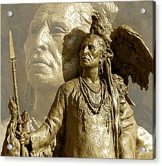 Acrylic Print featuring the photograph The Chief by Ginny Schmidt