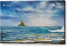 The Chinaman's Hat Acrylic Print