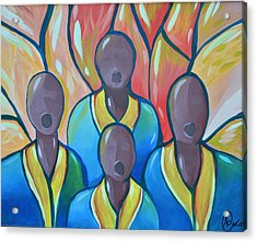 Acrylic Print featuring the painting The Choir by AC Williams