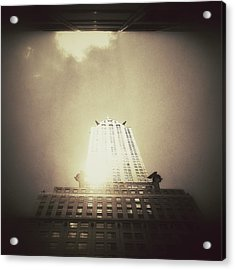 The Chrysler Building - New York City Acrylic Print by Vivienne Gucwa