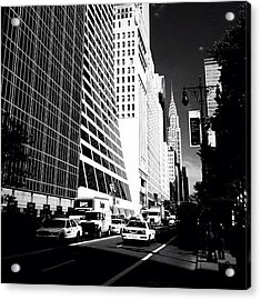 The Chrysler Building In New York City Acrylic Print