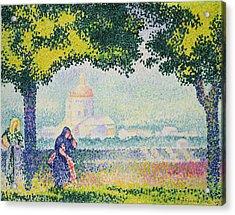 The Church Of Santa Maria Degli Angeli Acrylic Print by Henri-Edmond Cross