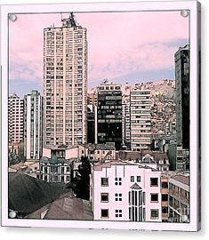 The City Of La Paz Acrylic Print