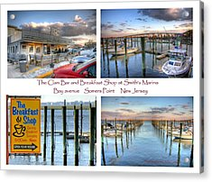 The Clam Bar And Breakfast Shop Acrylic Print