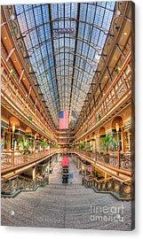 The Cleveland Arcade II Acrylic Print
