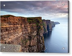 The Cliffs Of Moher Acrylic Print by Brendan O Neill