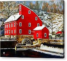 The Clinton Mill Acrylic Print
