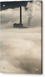 The Cloud Factory Acrylic Print by Andy Astbury
