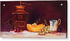 The Coffee Grinder Still Life Acrylic Print