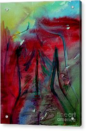 The Color Of Beauty Acrylic Print by Julie Lueders