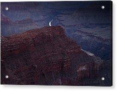 The Colorado River At Hopi Point Acrylic Print by Andrew Soundarajan