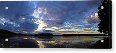 The Colors Of Morning  Acrylic Print by John Ungureanu