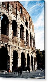 The Colosseum Acrylic Print by Donna Proctor