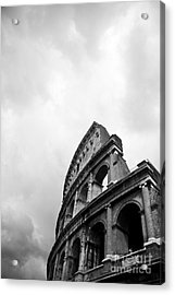 The Colosseum In Rome Acrylic Print by Steven Gray