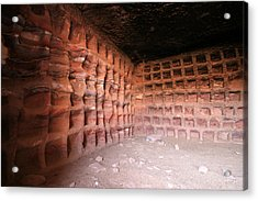 The Columbarium, Al Habis, Petra Acrylic Print by Joe & Clair Carnegie / Libyan Soup