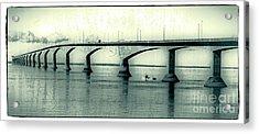 The Confederation Bridge Pei Acrylic Print