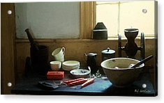 The Cook's Table Acrylic Print by RC deWinter