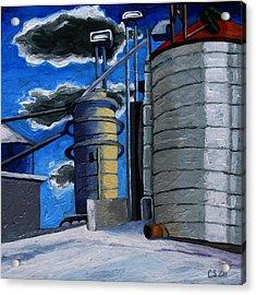 The Corn Machine Acrylic Print by Charlie Spear