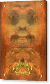 The Coronation Acrylic Print by Christopher Gaston