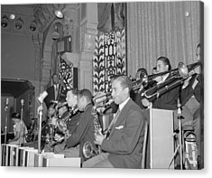 The Count Basie Orchestra At The Savoy Acrylic Print by Everett