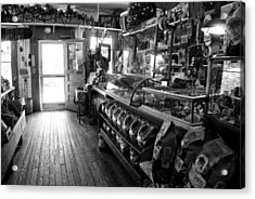 The Country Store Acrylic Print by Jeanne Sheridan
