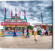 The County Fair Acrylic Print