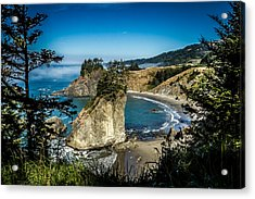 Acrylic Print featuring the photograph The Cove by Randy Wood