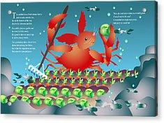 The Crabbit Acrylic Print by Gene Rosner