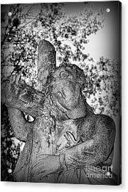 The Cross I Bear Acrylic Print by Paul Ward
