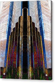 The Cube Acrylic Print by Michele Caporaso