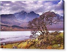 The Cuillins Skye Acrylic Print