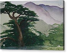 The Cypress Tree Acrylic Print