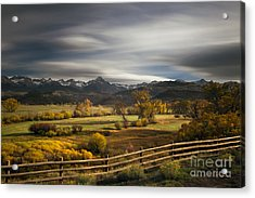 The Dallas Divide Acrylic Print