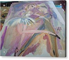 The Dance Acrylic Print by Judith Desrosiers