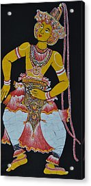 The Dance Acrylic Print by Kumi Rajagopal