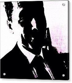 The Dark Man - #grunge #pop #art Acrylic Print