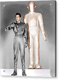 The Day The Earth Stood Still, Michael Acrylic Print by Everett