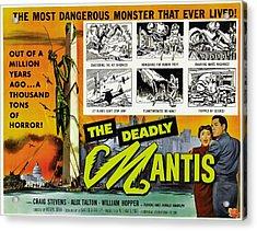 The Deadly Mantis, Bottom Right Acrylic Print by Everett