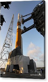 The Delta Iv Rocket That Will Launch Acrylic Print by Stocktrek Images