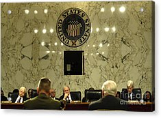 The Department Of Defense Address Acrylic Print by Stocktrek Images