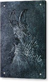 The Devil Acrylic Print by Maciej Kamuda